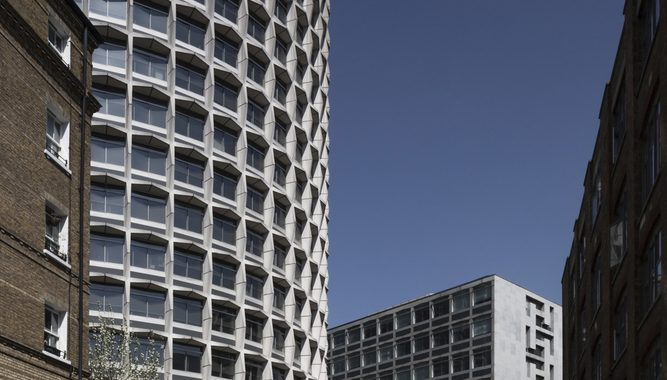 """London's Landmark Brutalist """"Space House"""" Is Captured In A Different Light In This Photo Essay"""