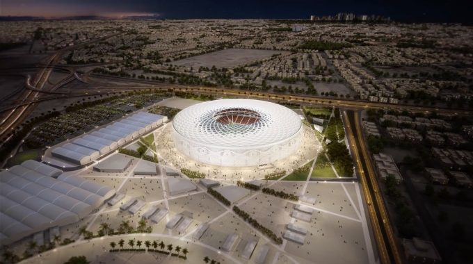 The Design Of The Latest Qatar 2022 World Cup Stadium Is Inspired By An Arabic Cap